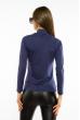 Гольф женский однотонный 620F001 синий