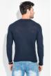 Джемпер мужской однотонный 168F038 синий