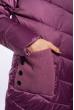 Куртка женская с капюшоном 120PSKL908 сиреневый