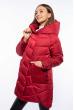 Куртка женская с капюшоном 120PSKL908 красный