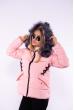 Куртка женская 184P003 розовый