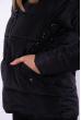 Куртка женская 184P003 черный