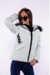 Куртка женская 184P003 мятный