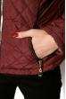 Куртка женская 121P018 бордовый
