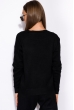 Вязанный женский костюм 120PSKL019 черный