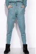Вязанный женский костюм 120PSKL019 лазурно-серый