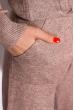 Вязанный женский костюм 120PSKL019 капучино