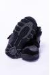 Ботинки на липучках 186P1302 junior черный / светло-серый