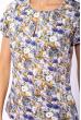 Блуза женская 118P048 молочно-синий