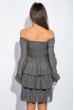 Платье женское до колена №19PG026 серый