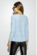 Модный кардиган 120PZEL002-1 голубой