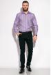 Рубашка классическая 11P1250 светло-сиреневый