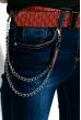 Джинсы женские 120PLEDK2105 синий