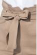 Брюки женские со сборкой на талии 64PD344 песочный