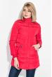 Куртка женская с капюшоном 677K003 красный