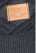 Свитер мужская с рисунком ромб 169V001 серо-синий