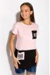 Футболка женская 317F074 розовый
