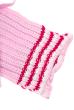 Комплект детский (для девочки) шапка и шарф с нашивкой