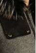 Пальто женское 130P004 светло-серый