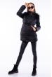 Куртка женская с перьевой отделкой 120PSKL2205 черный