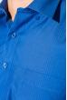Рубашка мужская в крупную полоску 50PD0872-11 электрик