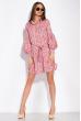 Платье с нежным цветочным принтом 103P492-1 пудровый принт