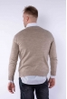 Пуловер 645F002 капучино