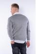 Пуловер 645F002 серый