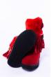 Сапоги с бахромой 186P609 junior красный