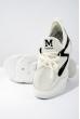 Кроссовки женские 11PM719 бело-черный