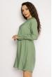 Изящное платье 632F015 зеленый