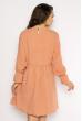 Изящное платье 632F015 пудровый