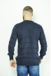 Джемпер мужской 85F056 темно-синий