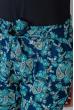 Брюки женские летние, тонкие №297F001 сине-голубой