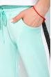 Костюм женский спортивный с короткими рукавами 151P121 бело-мятный