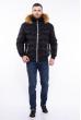 Куртка стеганая Black 162P034 черный