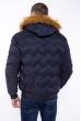 Куртка стеганая Black 162P034 темно-синий