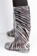 Сапоги женские 160P27 зебра