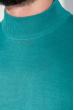 Свитер мужской однотонный 50PD102 зеленый