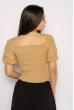 Блуза женская фасон Анжелика 635F005 бежевый