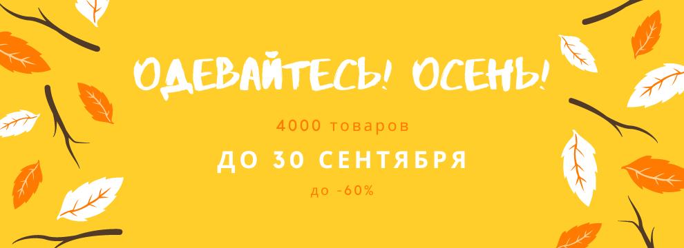 4000 акционных товаров