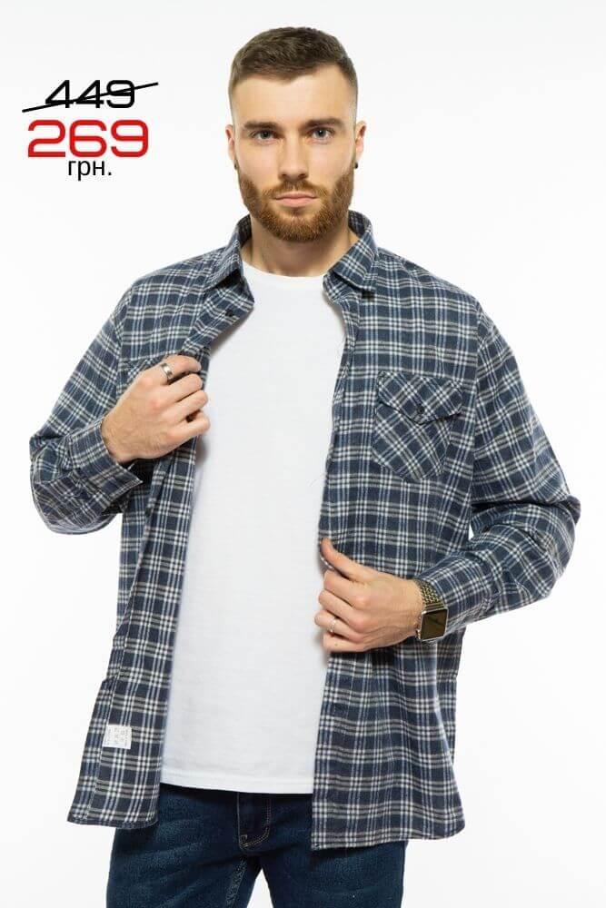 Рубашка мужская в клетку 269 грн.