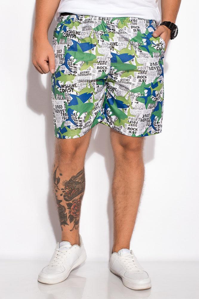 Купить Мужские шорты, Шорты 452V005-25, Time of Style, Бело-зеленый