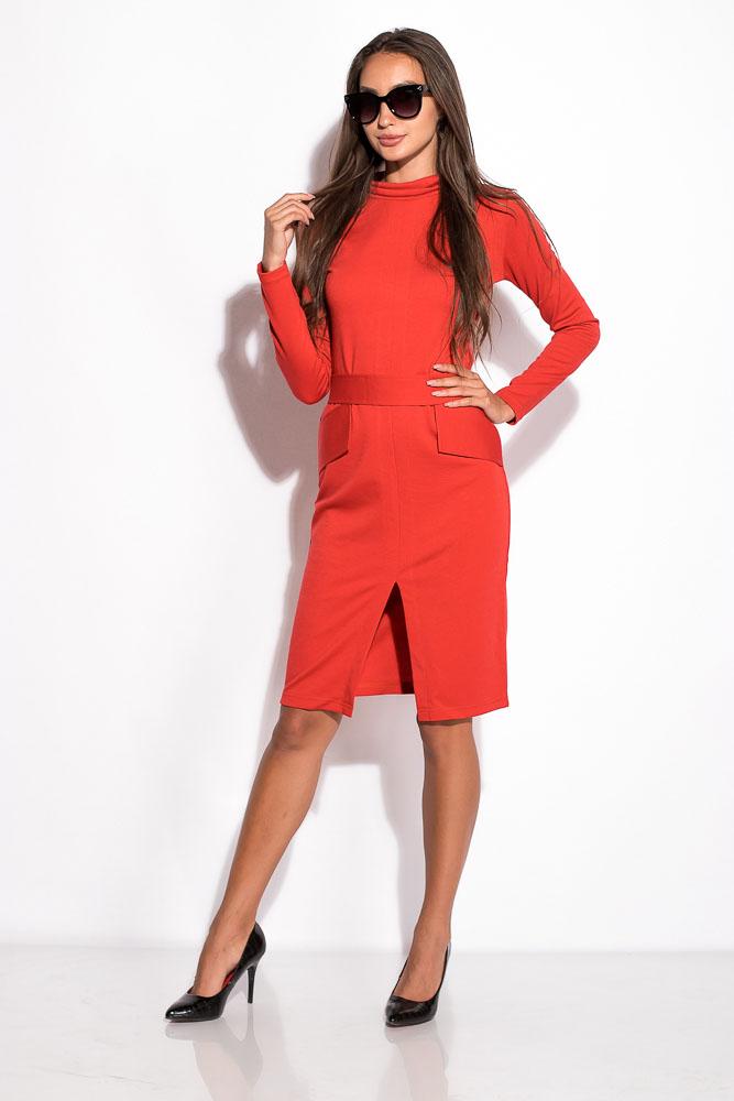 Купить Женские платья, Платье женское 120P070, Time of Style, Бордо, Красный, Темно-зеленый, Темно-синий, Изумрудный, Синий, Черный