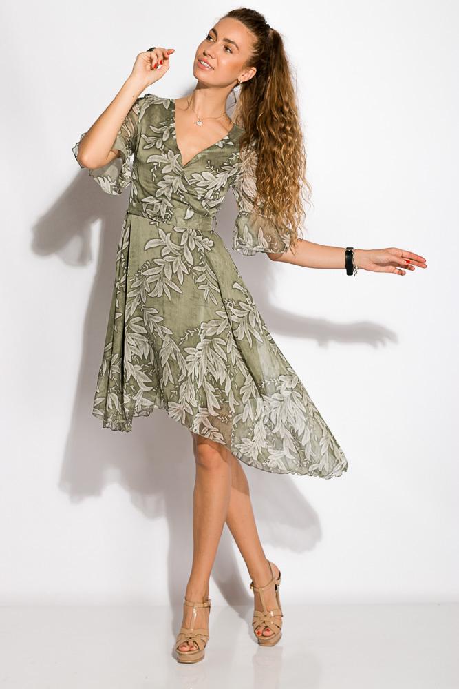 Купить Женские платья, Платье 405V001, Time of Style, Оливковый