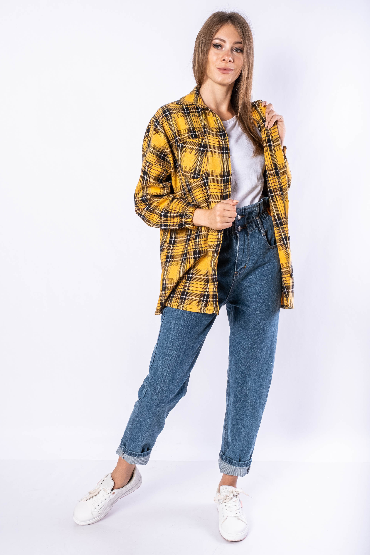 Акция на Рубашка женская 632F018 от Time Of Style - 3