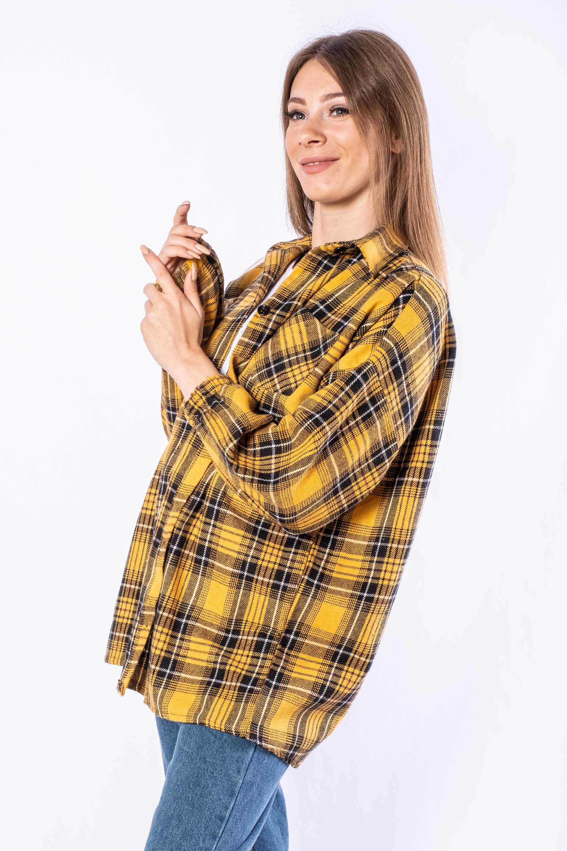 Акция на Рубашка женская 632F018 от Time Of Style - 4