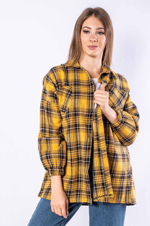 Акция на Рубашка женская 632F018 от Time Of Style - 2