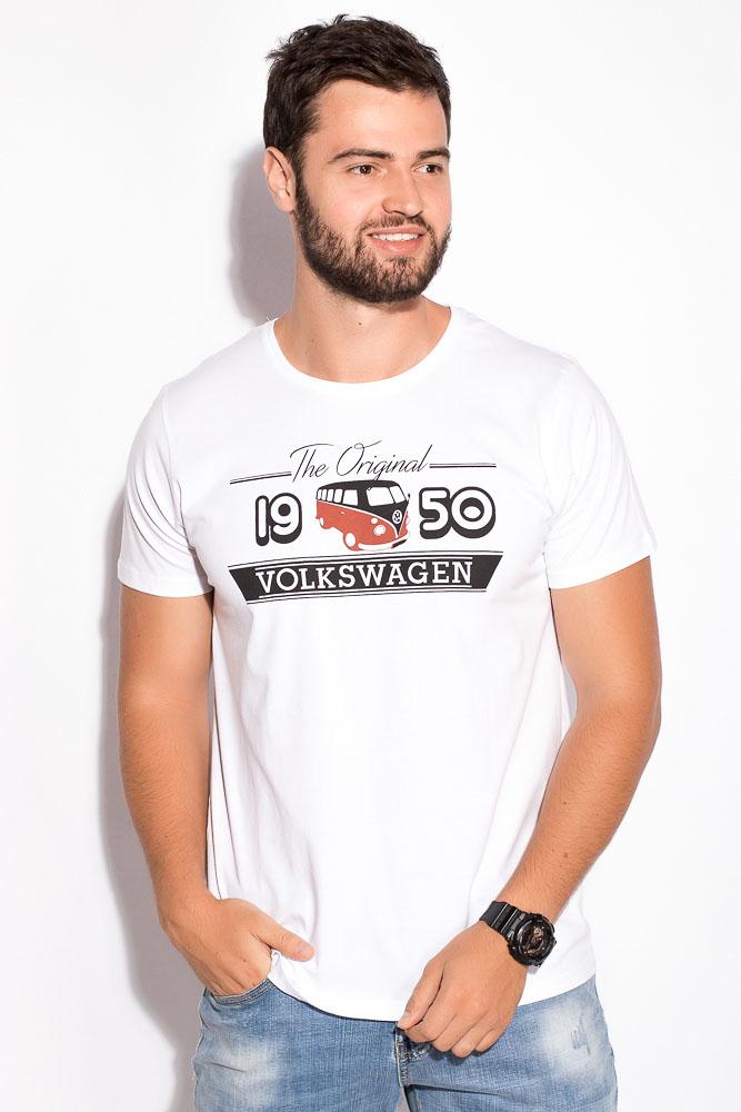 Купить Мужские футболки, Футболка 516F551, Time of Style, Белый