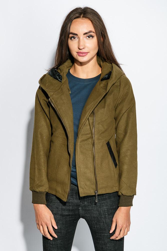 Купить Куртка женская мягкая, демисезонная 678K002, Time of Style, Персиковый, Капучино, Серый, Серо-кремовый, Темный хаки, Черный, Песочный, Хаки